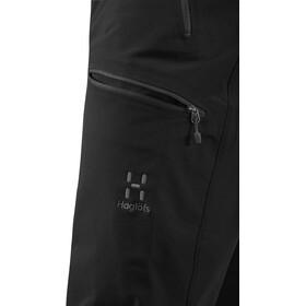 Haglöfs Breccia Pantalones Hombre, true black/magnetite